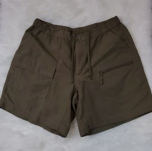 The North Face Womens Olive Green Shorts Medium